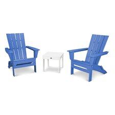 Quattro 3 Piece Adirondack Seating Group