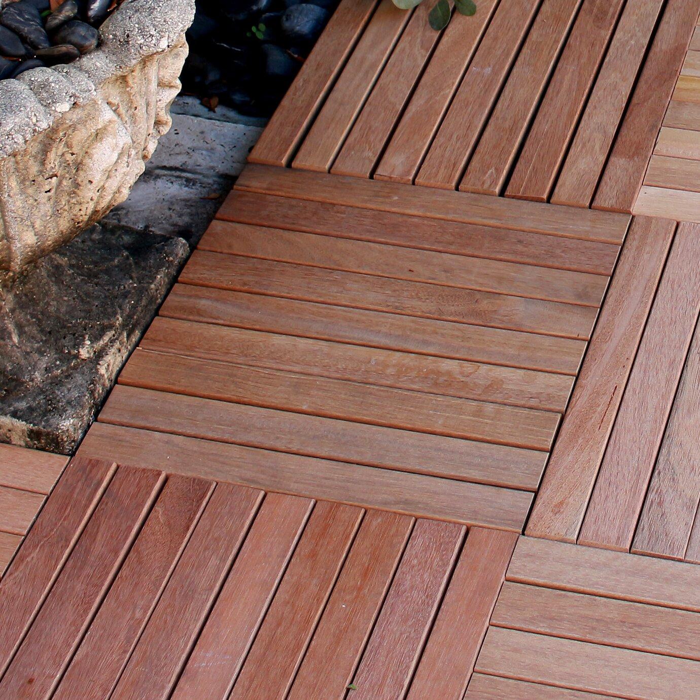 Sfi engineered wood floors reviews - Le Click 16 Engineered Teak Hardwood Flooring In Natural