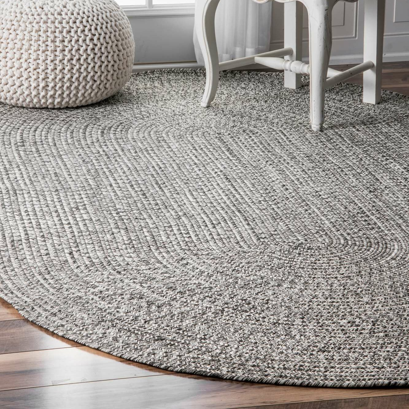 Corrigan Studio Canton Salt Pepper Indoor Outdoor Area Rug