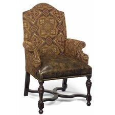 Bulger Leather Arm Chair by Fleur De Lis Living