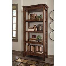 Burnes 72 Standard Bookcase by Three Posts