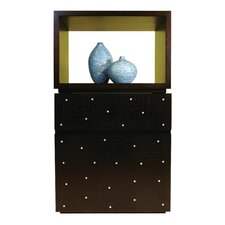 Cubo 2 Drawer Chest by Indo Puri