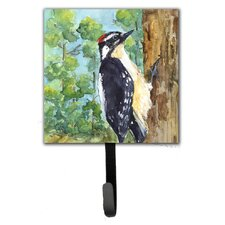 Downy Woodpecker Bird Wall Hook by Caroline's Treasures