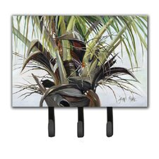 Top Palm Tree Leash Holder and Key Hook by Caroline's Treasures