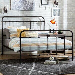 drake queen panel bed - Iron Bed Frames Queen