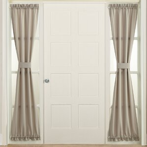 Groton Solid Blackout Rod Pocket Single Curtain Panel