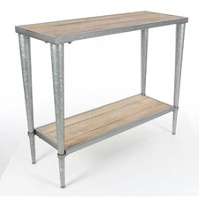 Trenton Metal Wood Console Table by Williston Forge