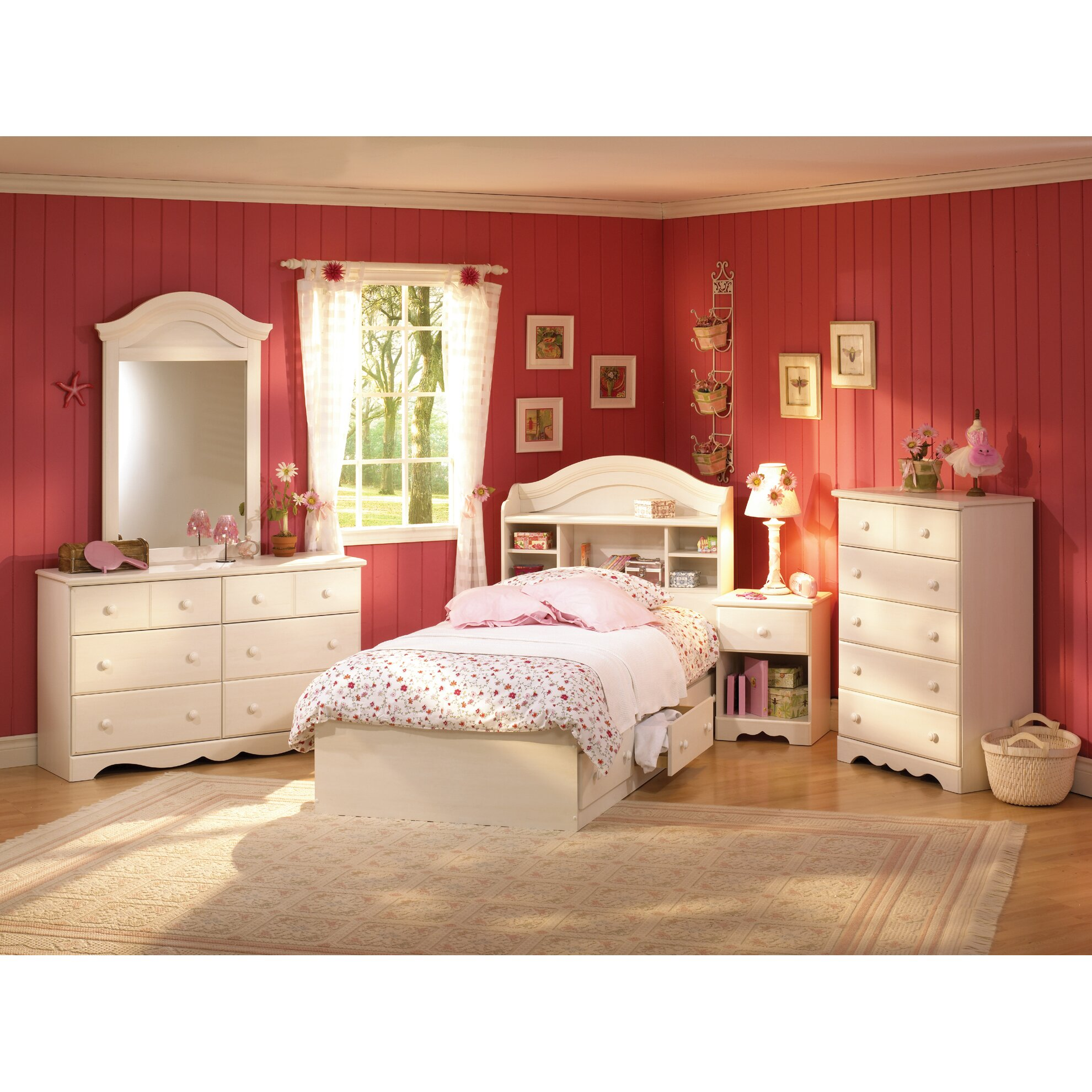 Summer Breeze Platform Customizable Bedroom Set