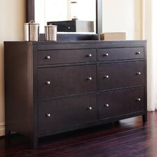 Linglestown 6 Drawer Dresser with Mirror by Red Barrel Studio