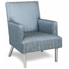 Sprague Leather Arm Chair by Latitude Run