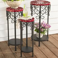 Decorative Multi-tiered Plant Stand Set (Set of 3) by Plow & Hearth