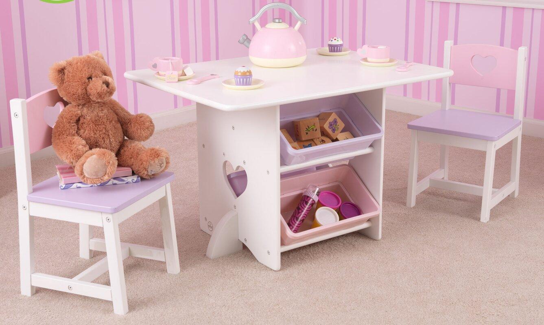 KidKraft Heart Kids 7 Piece Table Chair Set Reviews Wayfair