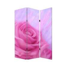 72 x 48 Flourish 3 Panel Room Divider by Screen Gems