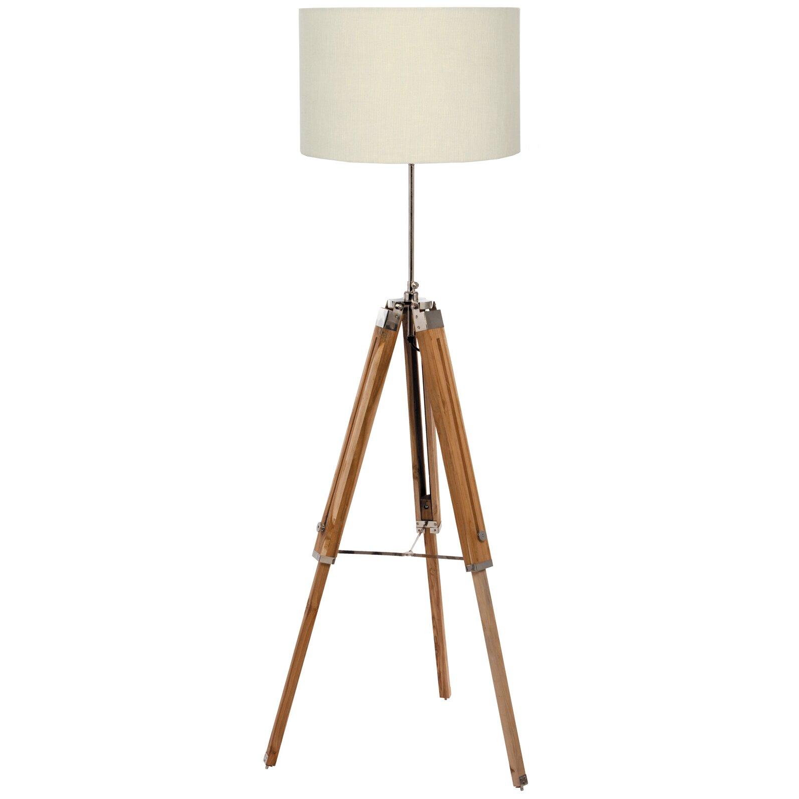 loftdesigns 170 cm tripod stehlampe dinuba bewertungen. Black Bedroom Furniture Sets. Home Design Ideas
