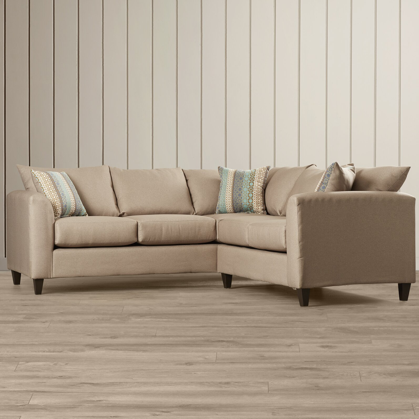 Beachcrest Home Serta Upholstery Sectional Reviews Wayfair : serta upholstery sectional - Sectionals, Sofas & Couches