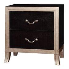 Berthe 2 Drawer Nightstand by Willa Arlo Interiors