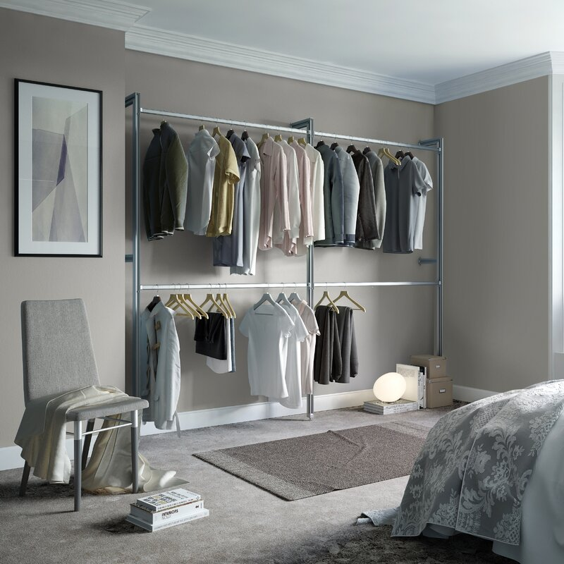 Bedroom Wall Closet Systems