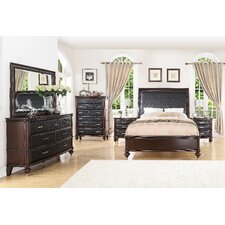 Bohemia Luxury Panel 6 Piece Bedroom Set by World Menagerie