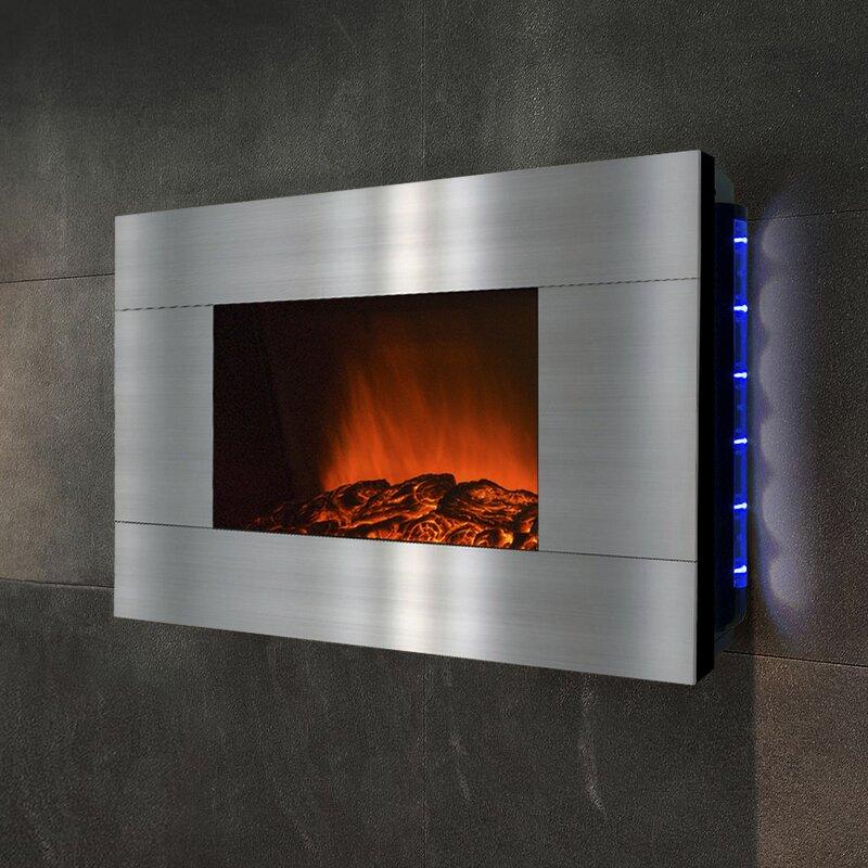 GoldenVantage Wall Mount Electric Fireplace Reviews Wayfair