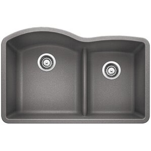 diamond 32 x 2088 low divide undermount kitchen sink. beautiful ideas. Home Design Ideas