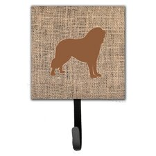 Tibetial Mastiff Leash Holder and Wall Hook by Caroline's Treasures