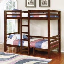 Audrey Twin/Twin Convertible Loft Slat Bed by Viv + Rae