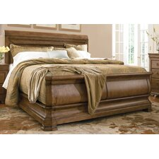 Bellaville Sleigh Bed by Darby Home Co