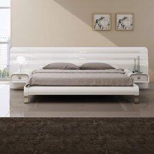 Upholstered Platform Bed by Wade Logan
