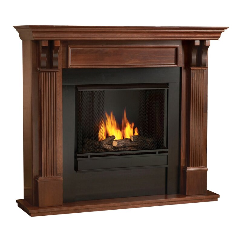 Outdoor Fireplace menards outdoor fireplace : Real Flame Ashley Gel Fuel Fireplace & Reviews | Wayfair