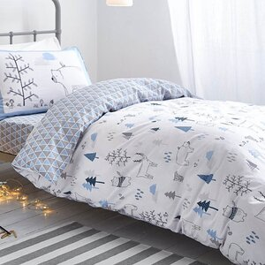 Nordic Print Fitted Sheet