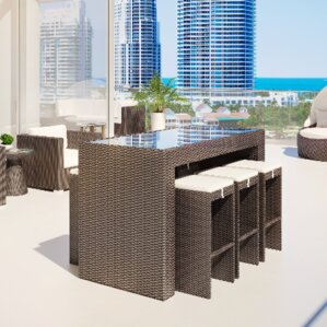 Rattan Patio Dining Sets Youll Love Wayfair