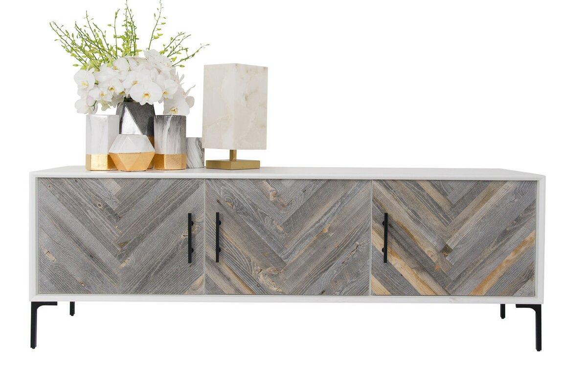 modern sideboards  buffets  allmodern - amalfi sideboard