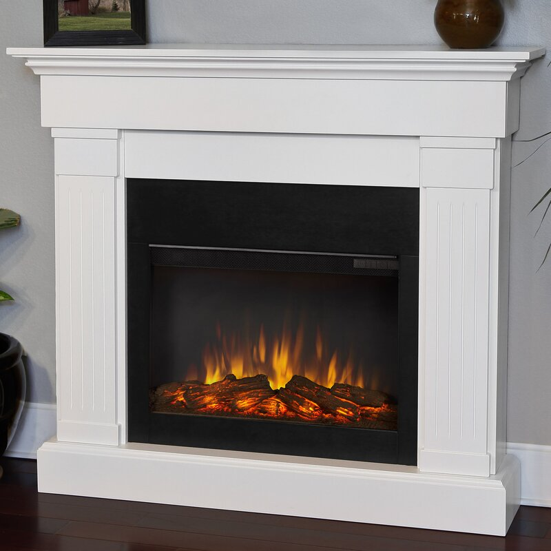 Fireplace Design fireplace electric : Real Flame Slim Crawford Wall Mount Electric Fireplace & Reviews ...