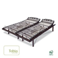 Electric T Adjustable Bed by Tobia Natural Sleep