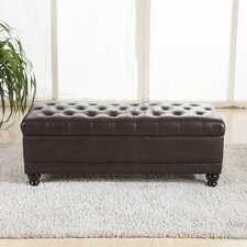 Luxury Comfort Upholstered Storage Bedroom Bench by Bellasario Collection