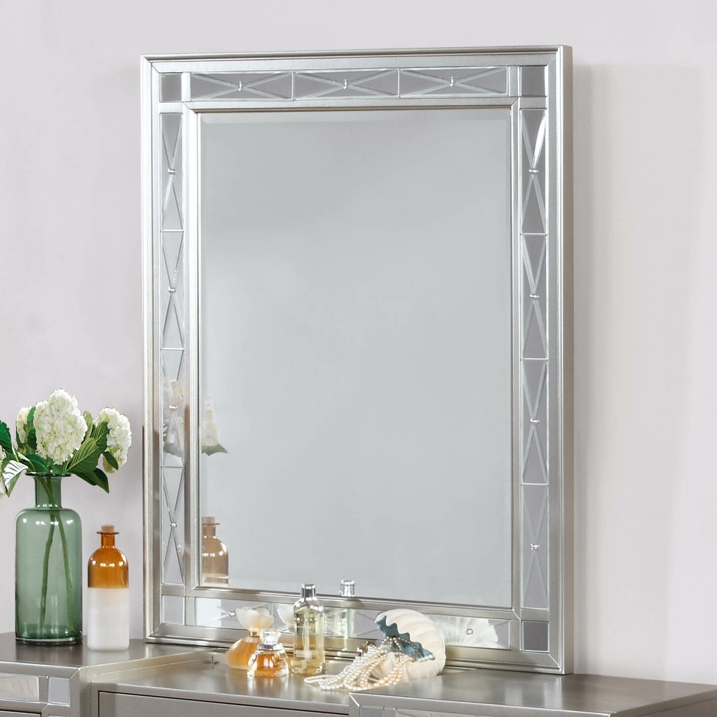 Willa Arlo Interiors Alessia Rectangular Vanity Mirror Reviews