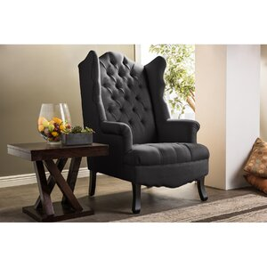 Sevastopol Wing back Chair by Latitude Run