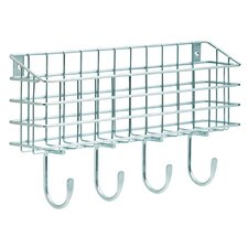 Wire Mail Basket Wall Hook by Franklin Brass
