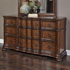 Quellenhof 9 Drawer Standard Dresser by Astoria Grand