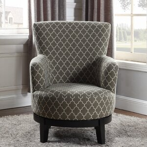 London Swivel Armchair by Nathaniel Home