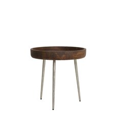 Caluma Wood End Table by Light & Living