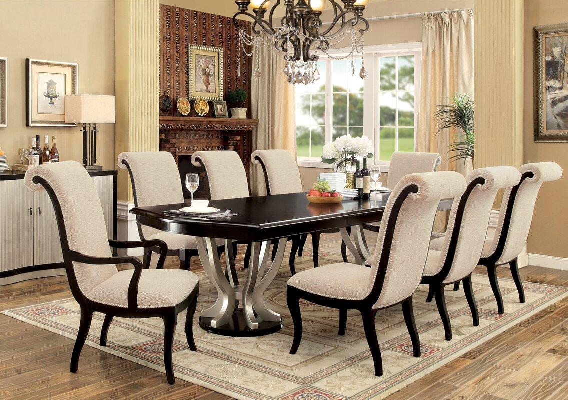 willa arlo interiors choncey 9 piece dining set reviews wayfair default name