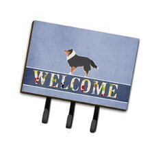 Shetland Sheepdog Welcome Leash or Key Holder by Caroline's Treasures