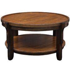 Eugenie Round Wooden Coffee Table by Bloomsbury Market