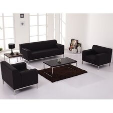 Brennen Leather Living Room Collection by Latitude Run