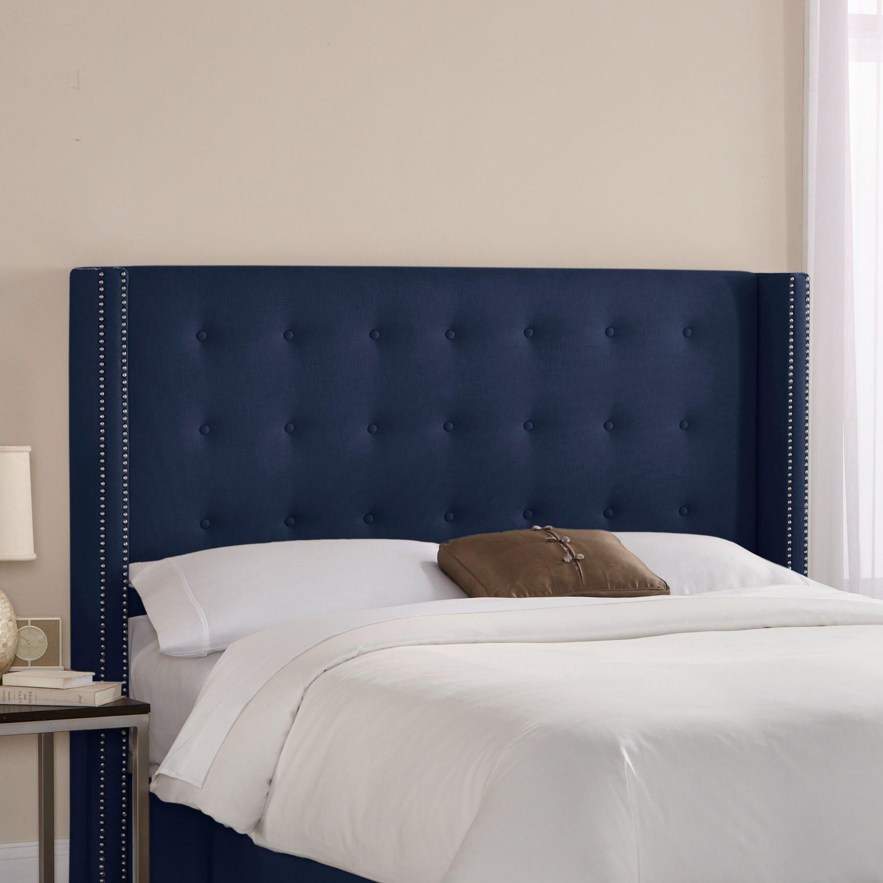 skyline headboard - skyline furniture wingback upholstered headboard reviews wayfair