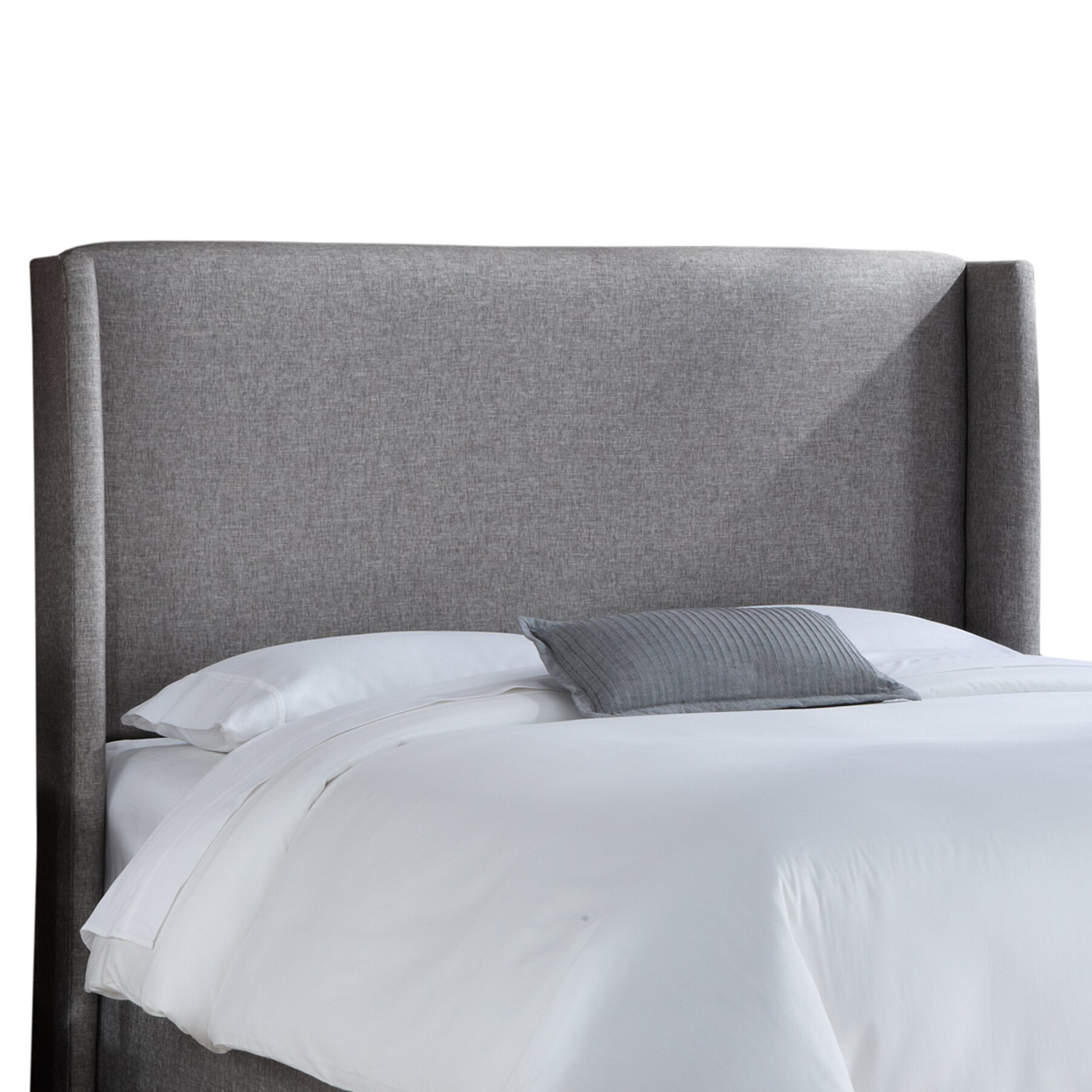 skyline furniture wingback upholstered headboard  reviews  wayfair, Headboard designs