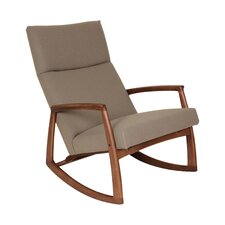 The Bollnas Lounge Rocking Chair by dCOR design
