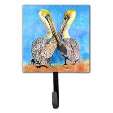 Pelican Bird Leash Holder and Wall Hook by Caroline's Treasures
