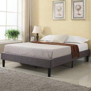 rockport upholstered platform bed - King Size Bed Frame Platform